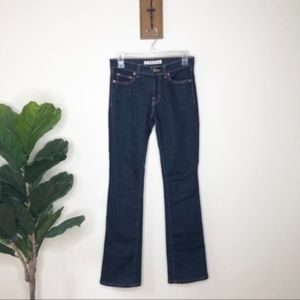 J Brand dark wash boot cut jeans